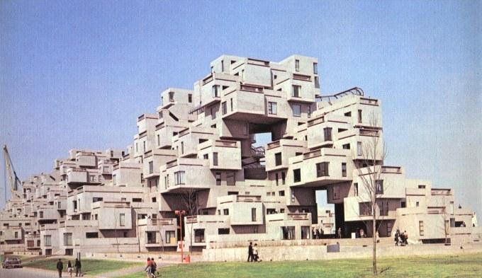 Architektúra Habitat 67 - architecture
