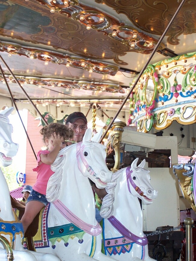 The Oldest Galloping Carousel In The World